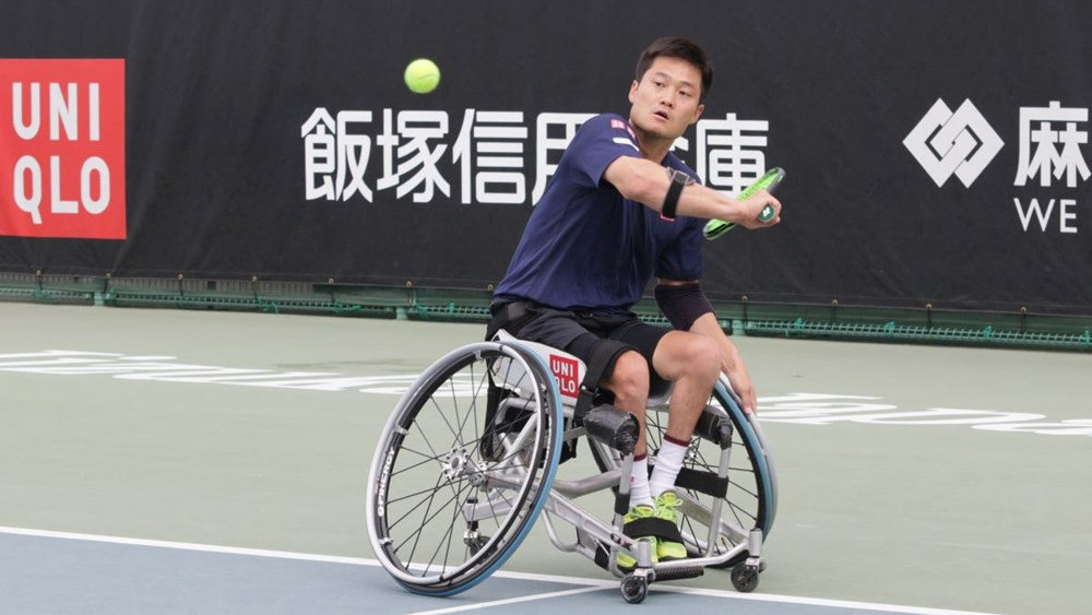Shingo Kunieda claimed a record ninth ITF Japan Open title ©ITF