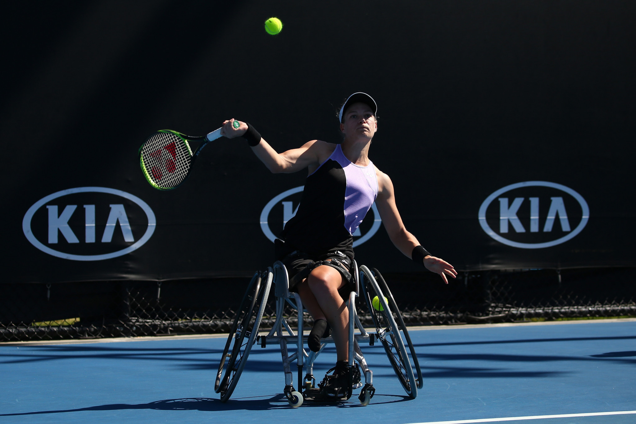 Diede de Groot of the Netherlands beat Yui Kamiji in the women's singles final to prevent a Japanese sweep ©Getty Images