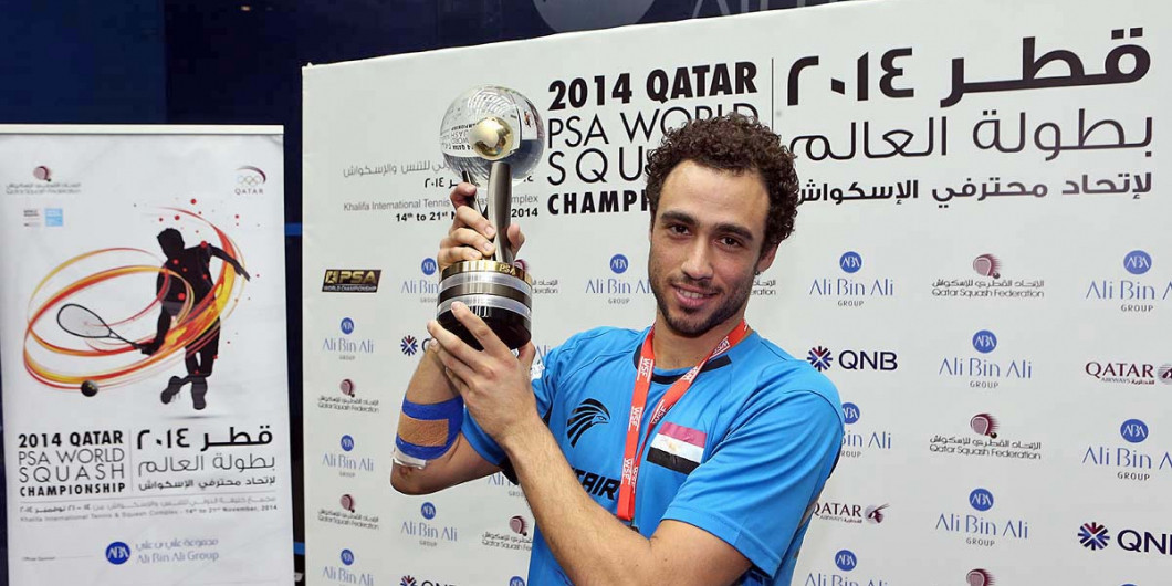 Three-time world champion Ashour announces immediate retirement from squash