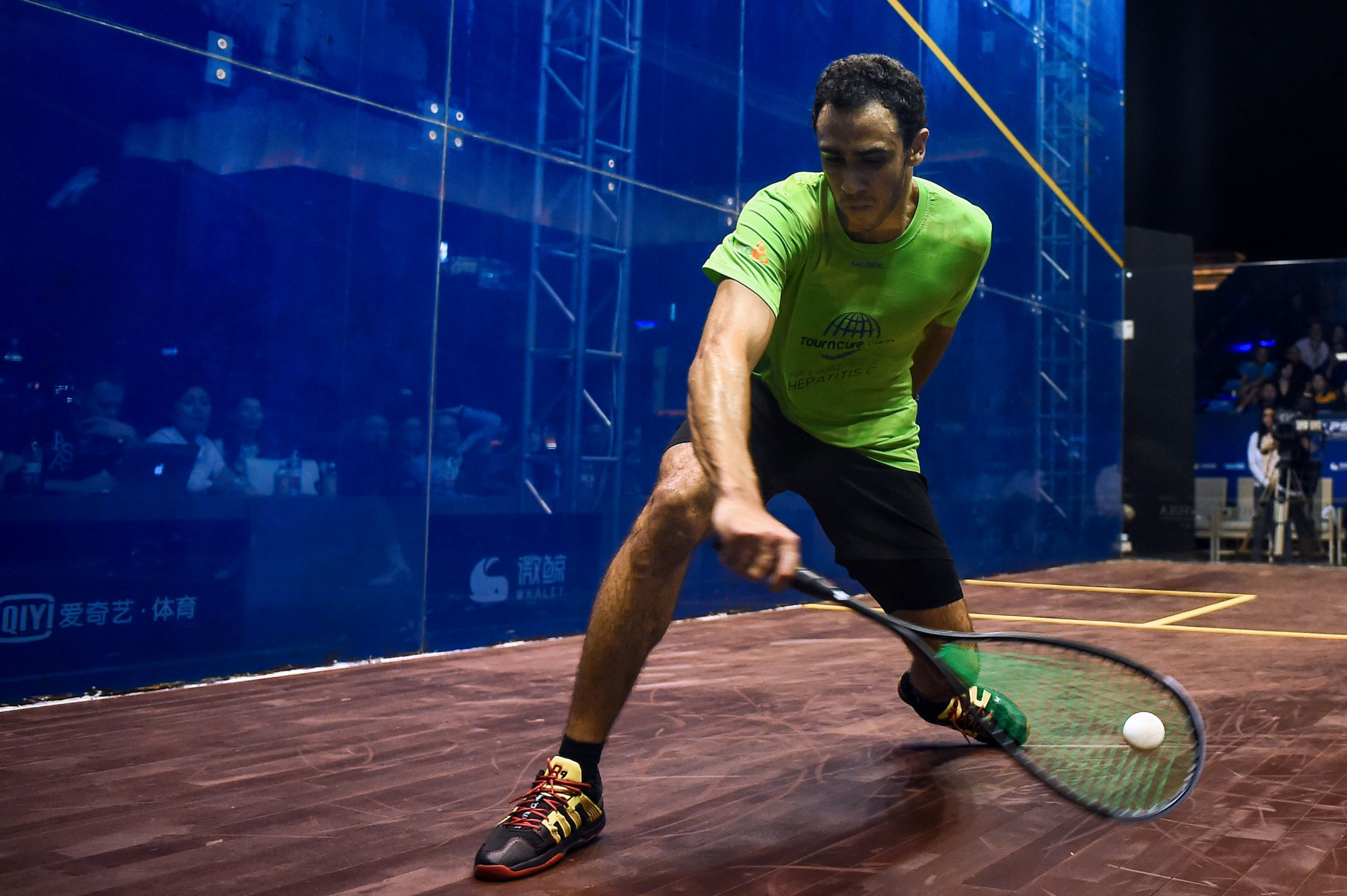 Ramy Ashour, considered one of the greatest of all time, has endured an injury-ravaged year and has not played since May ©Getty Images