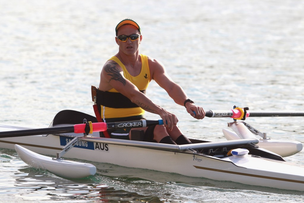 Last year's World Rowing Para-rowing Crew of the Year Erik Horrie of Australia has been nominated for the 2015 award ©Getty Images