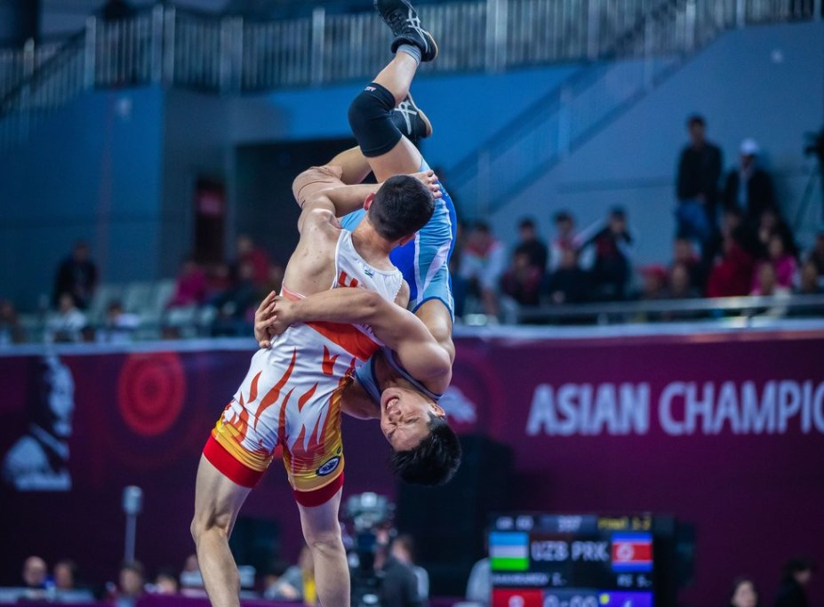 Iran seal team Greco-Roman title on final day of Asian Wrestling Championships
