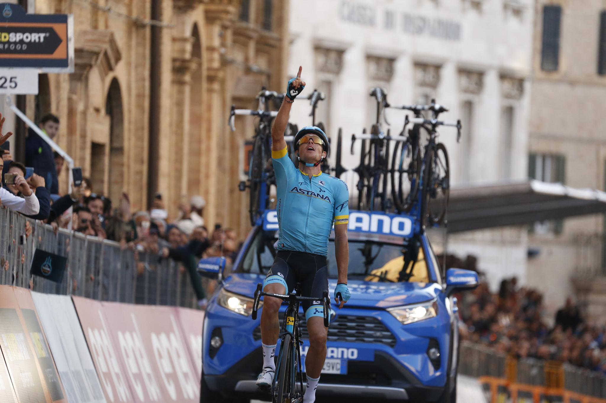 Jakob Fuglsang won today's Liège-Bastogne-Liège classic race ©Getty Images
