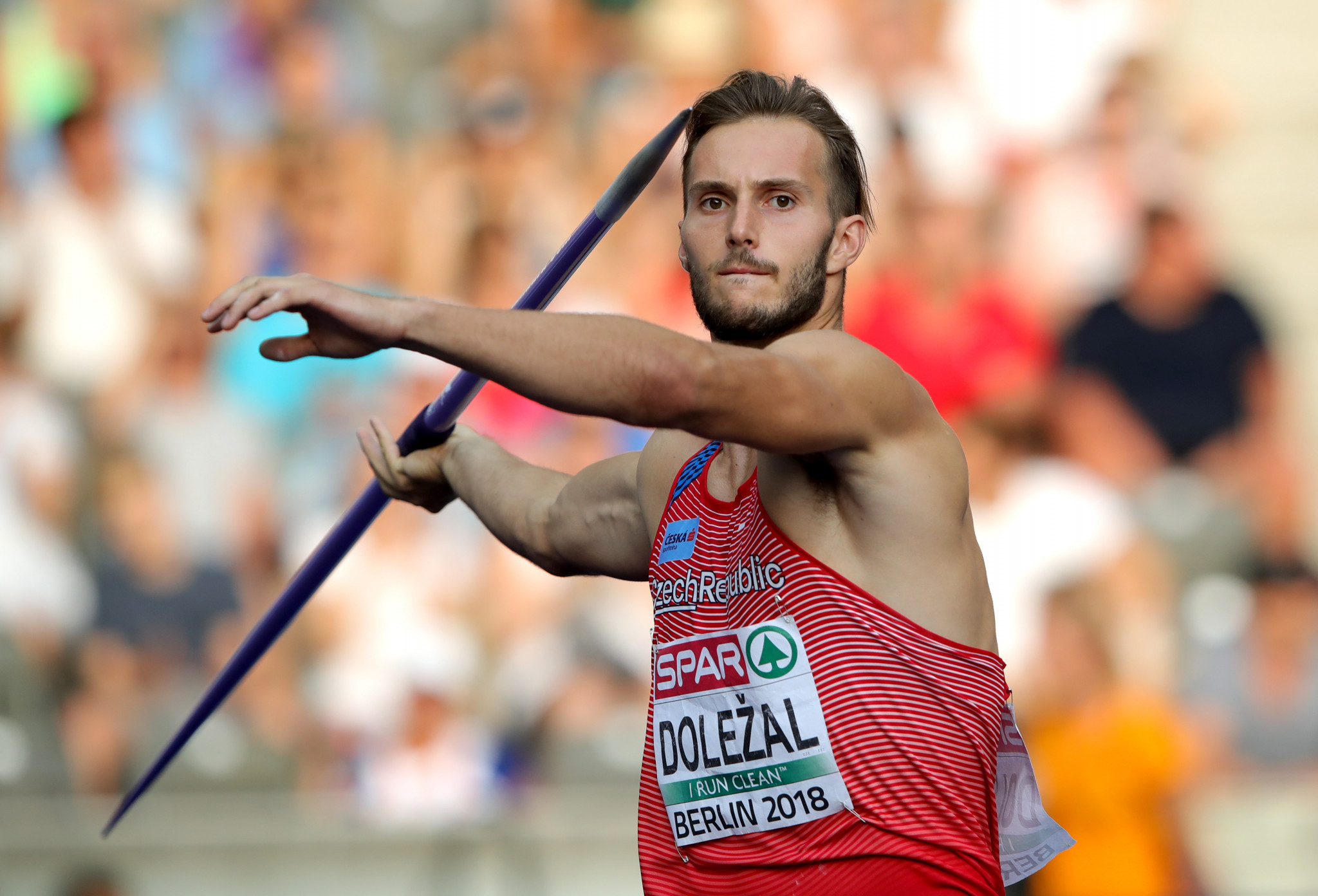 Czech athlete Jan Doležal won the opening leg of this season's IAAF Combined Events Challenge in Italy today ©Getty Images
