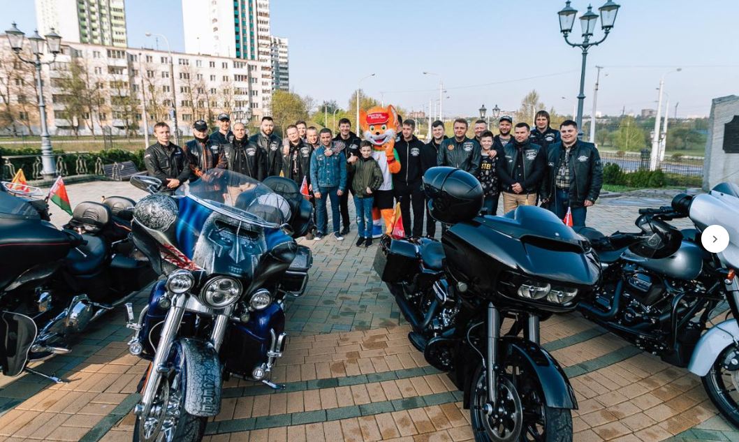 Bikers will escort the Torch from Rome to Minsk ©Minsk 2019