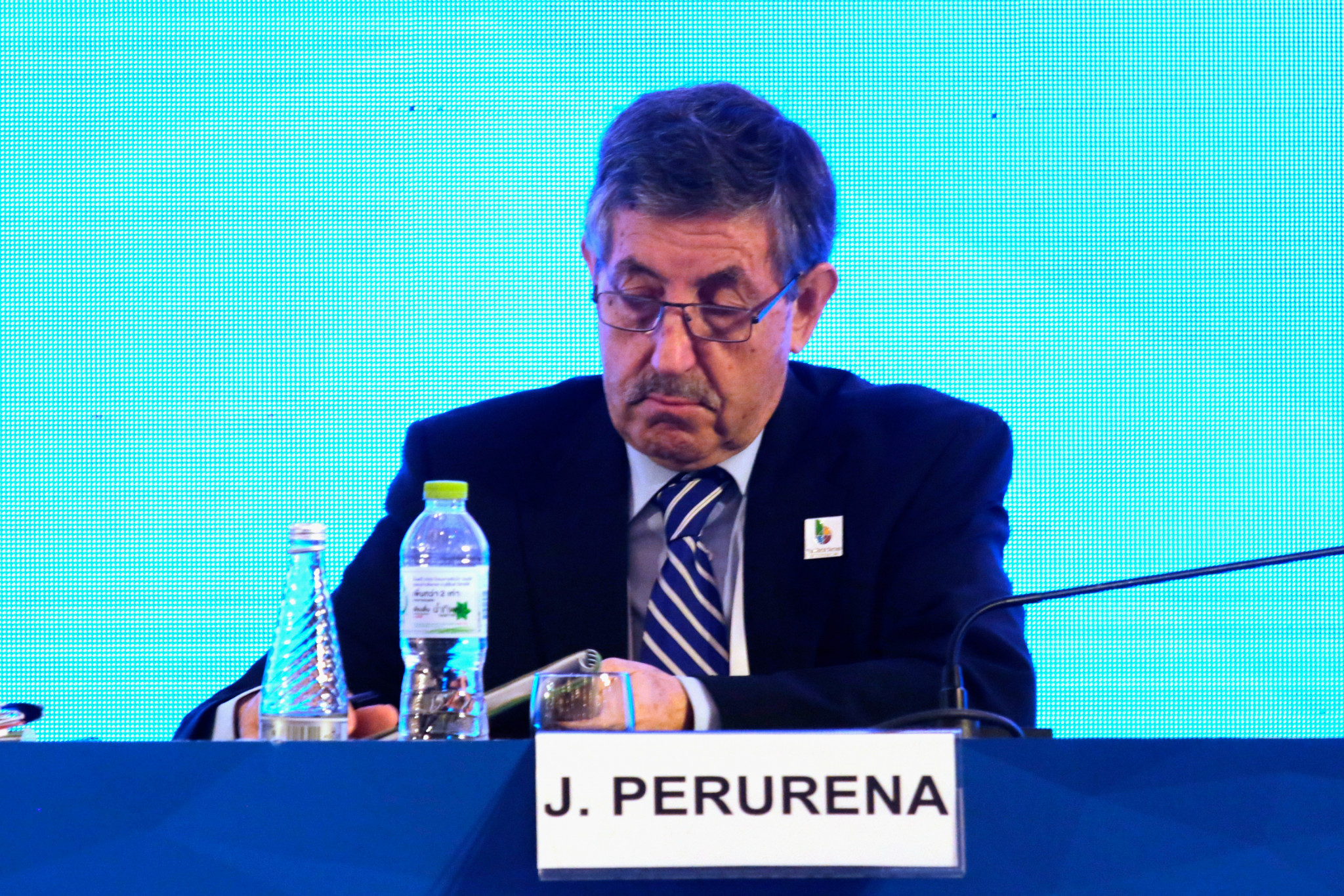 ICF President José Perurena is standing for a second term on the ASOIF Council ©Getty Images