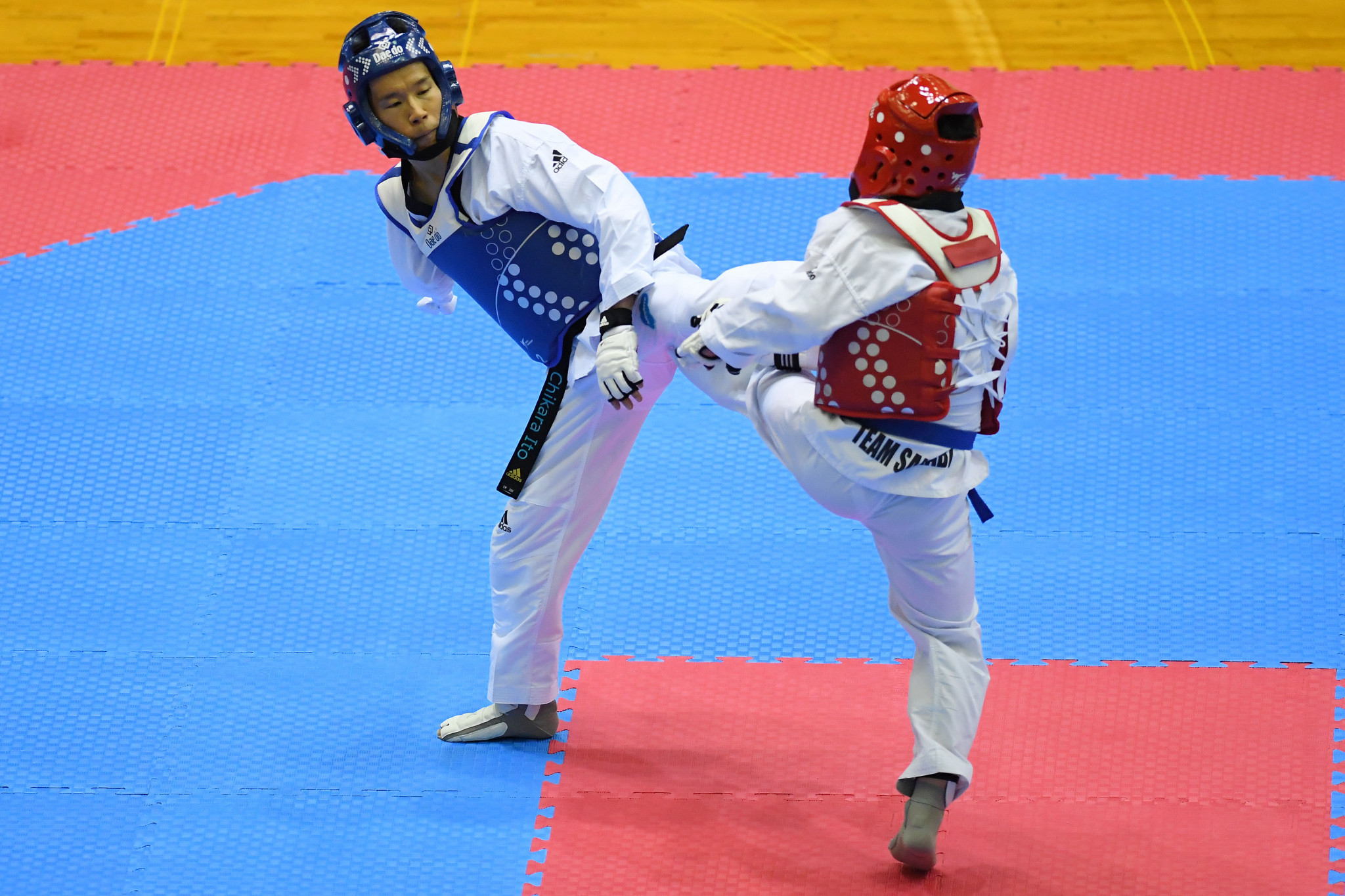 Para-taekwondo will debut at the Tokyo 2020 Paralympic Games ©Getty Images