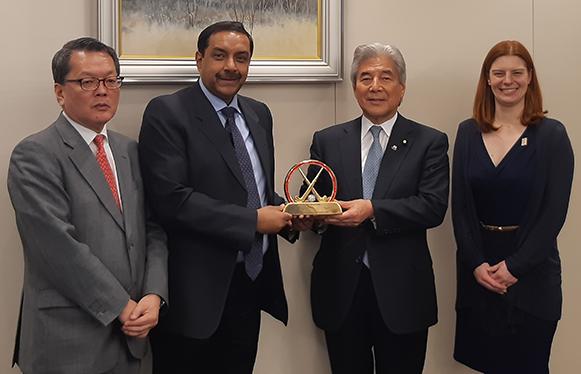 FIH hails progress on Tokyo 2020 venue construction
