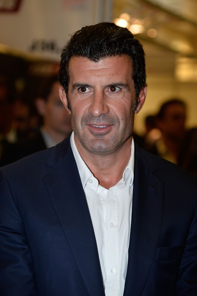 Former FIFA Presidential candidate Luis Figo has backed UEFA general secretary Gianni Infantino in the race for the top job at world football's governing body ©Getty Images