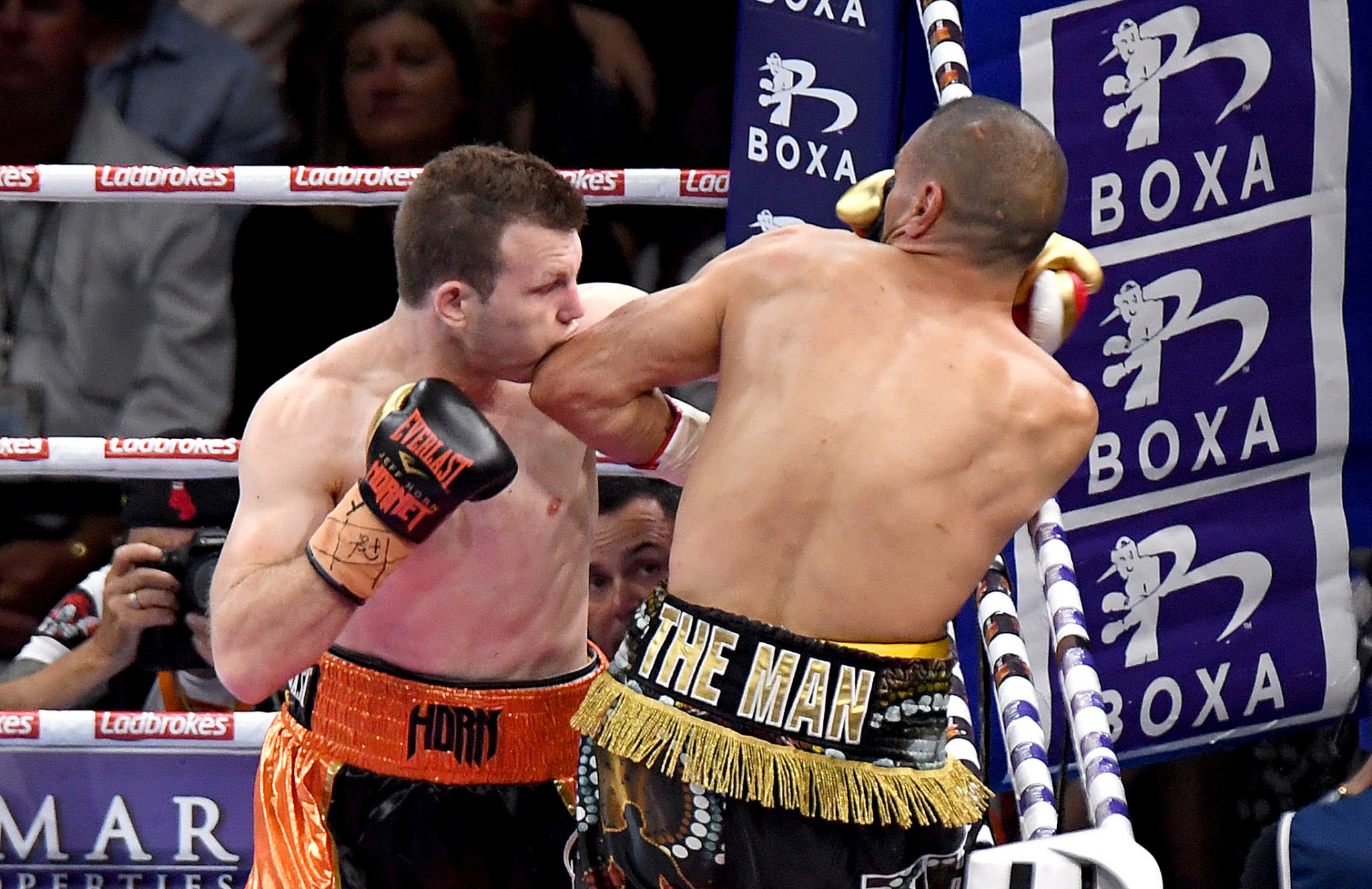 Jeff Horn is a former World Boxing Organization welterweight champion ©Getty Images