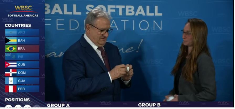 Draw completed in Lausanne for WBSC Americas Softball Championship