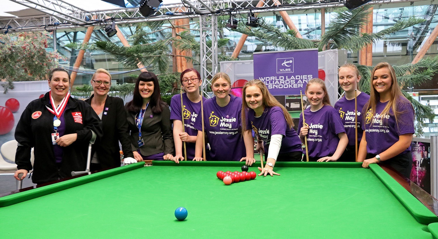 Women's snooker to be showcased in Sheffield
