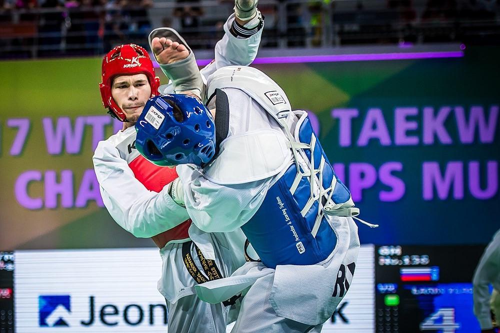 Alexander Bachmann will represent Germany at the World Taekwondo Championships ©World Taekwondo
