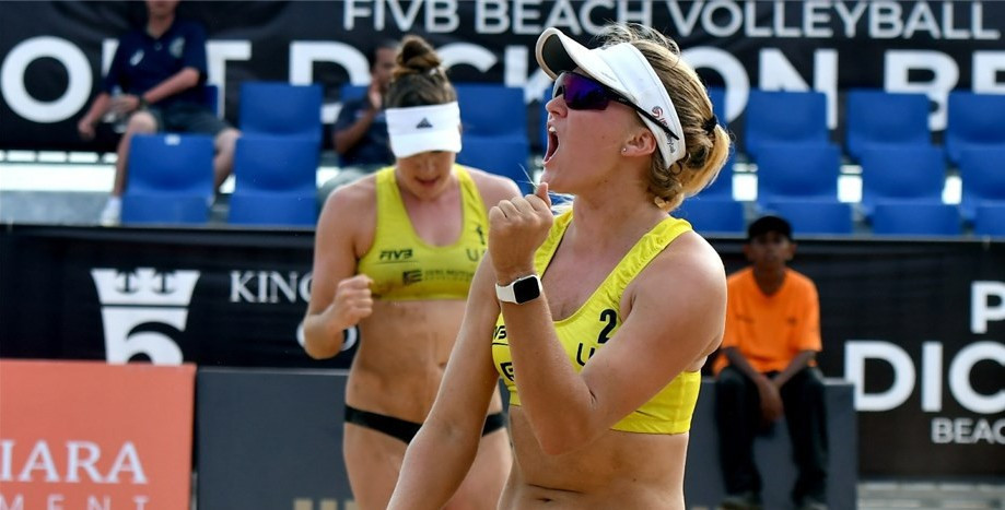 America's Amanda Dowdy and Corinne Quiggle reached the main draw of the FIVB Beach World Tour event in Kuala Lumpur ©FIVB