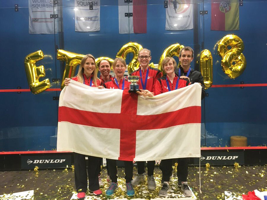 France and England to defend men's and women's titles at European Team Squash Championships in Edgbaston