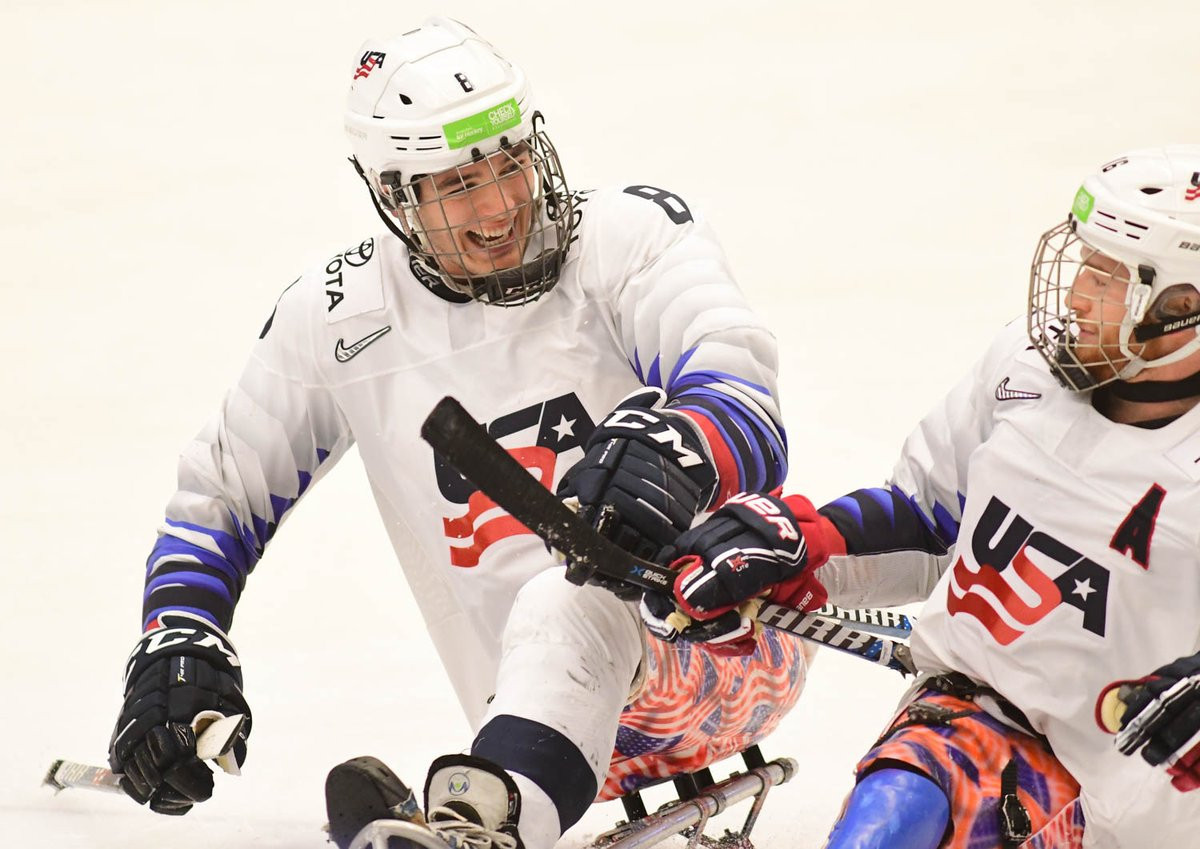 The United States continued their 100 per cent record at the World Para Ice Hockey Championships in the Czech Republic ©IIHF