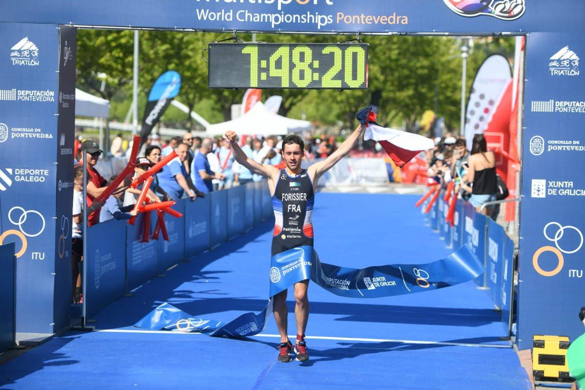Forissier edges out defending champion Ruzafa to take ITU Cross Triathlon World Championship title