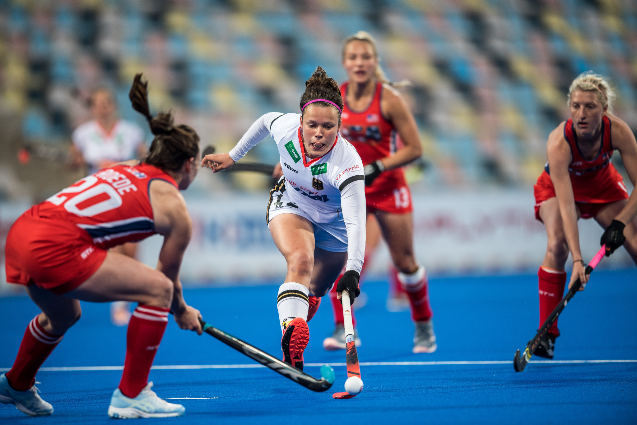 Germany defeated the US in the women's FIH Pro League ©Getty Images