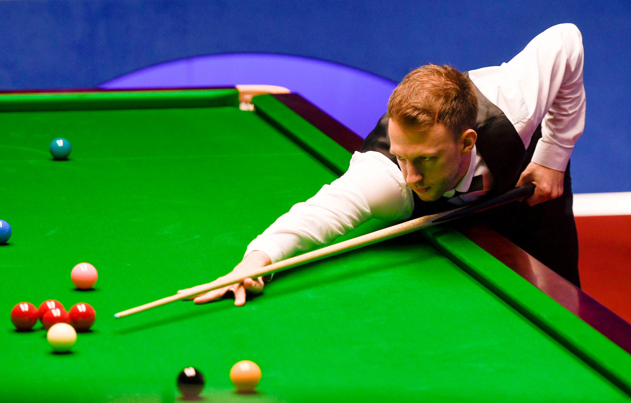 England's Judd Trump has a 7-1 lead in his quarter-final at the World Snooker Championships ©Getty Images