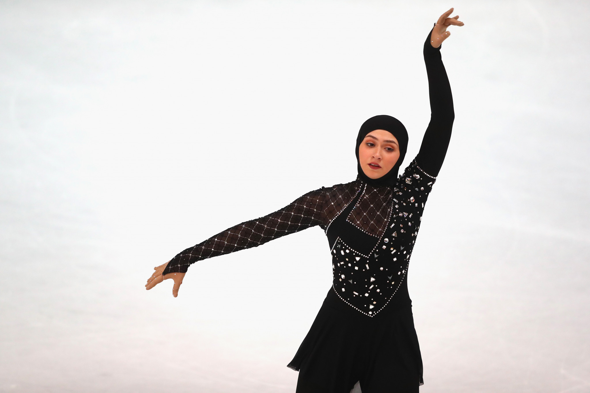 Figure skater Zahra Lari is the UAE's most well-known female athlete to have competed at university level ©Getty Images