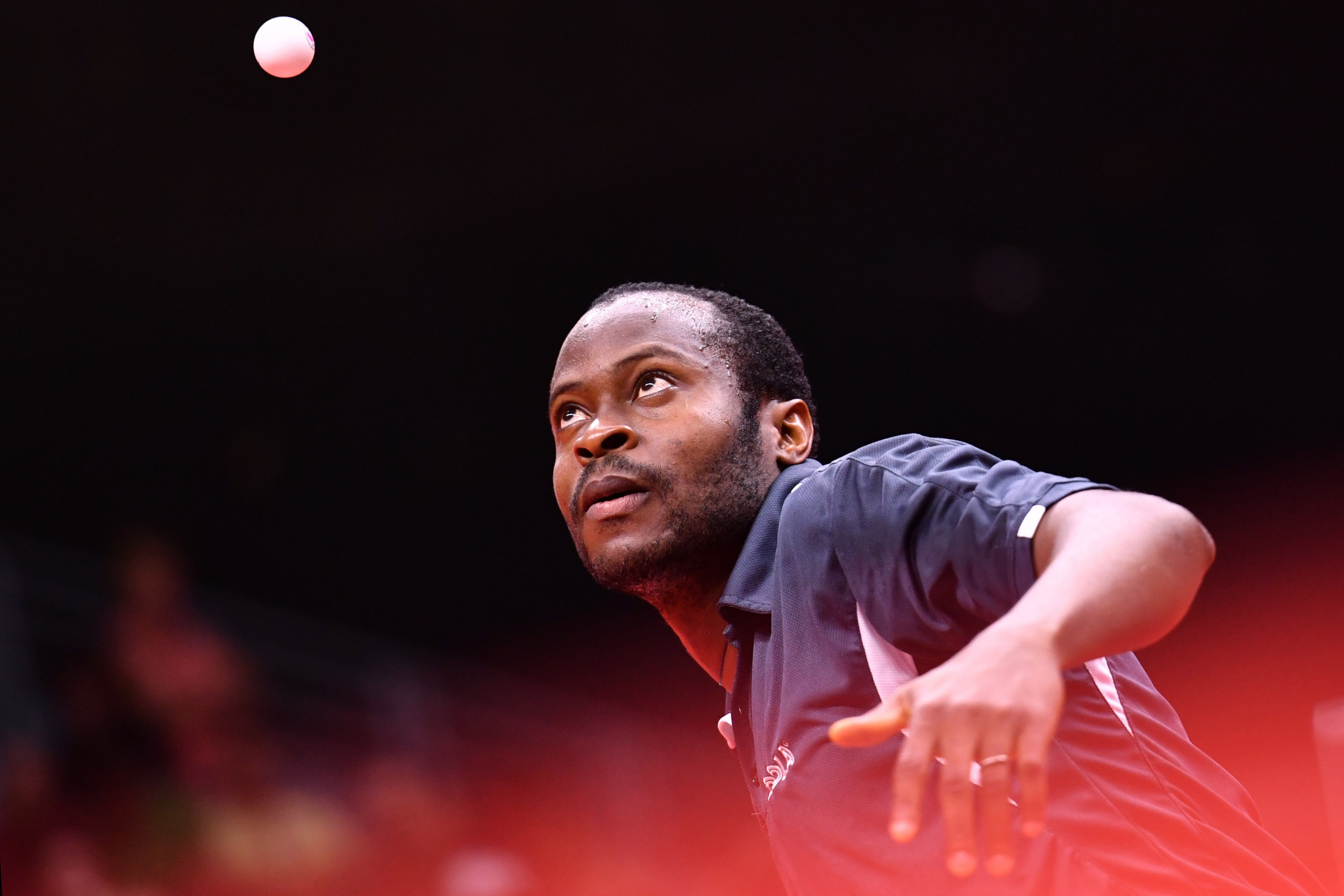 Quadri Aruna is one of Nigeria's leading table tennis players ©Getty Images