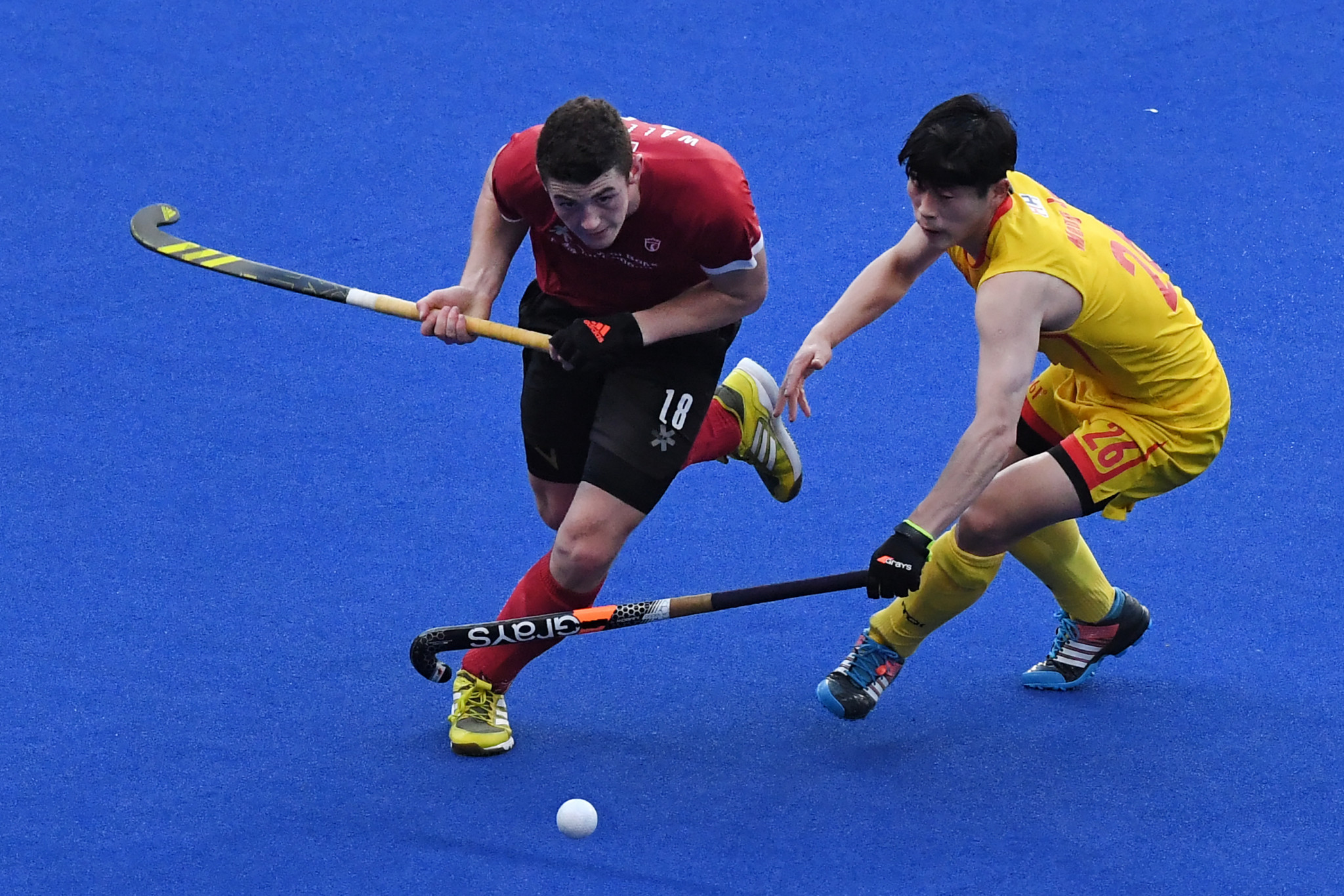 Canada progressed to the semi-final of the FIH Series Finals after defeating China in a shootout ©Getty Images