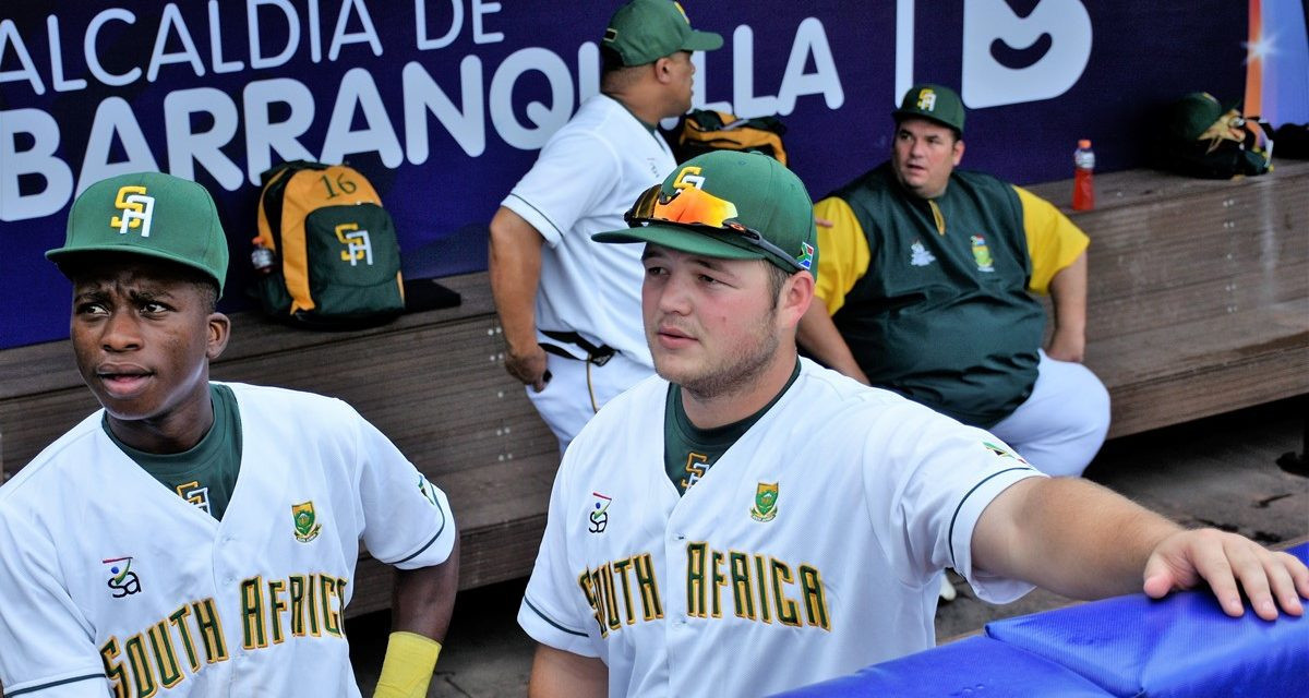 Hosts South Africa record emphatic win on opening day of Baseball Africa Cup