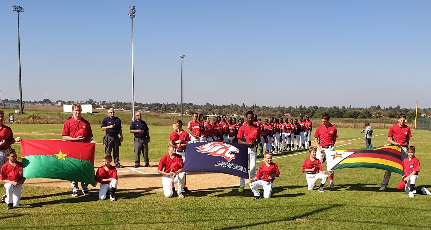 Zimbabwe defeated Burkina Faso 11-5 at the Baseball Africa Cup ©WBSC