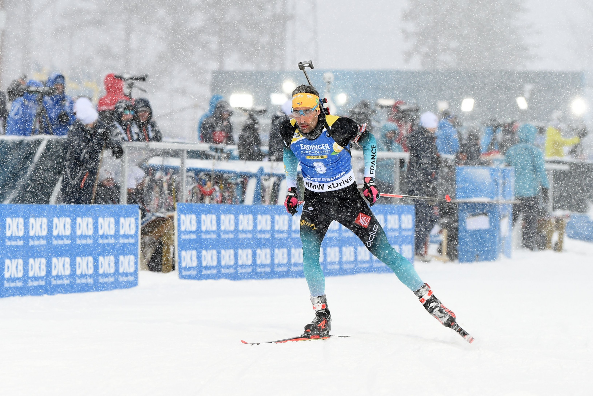 The event is being organised by French biathlon legend Martin Fourcade ©Getty Images
