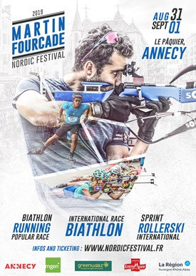 A host of the world's top athletes are set to compete at the first edition of the Martin Fourcade Nordic Festival in Annecy ©Martin Fourcade Nordic Festival