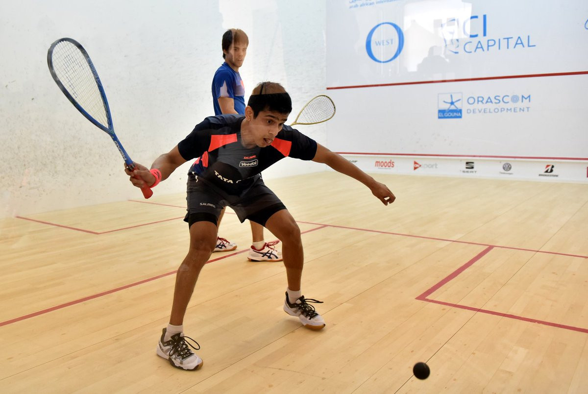 Top seeds ease through opening matches of Asian Individual Squash Championships