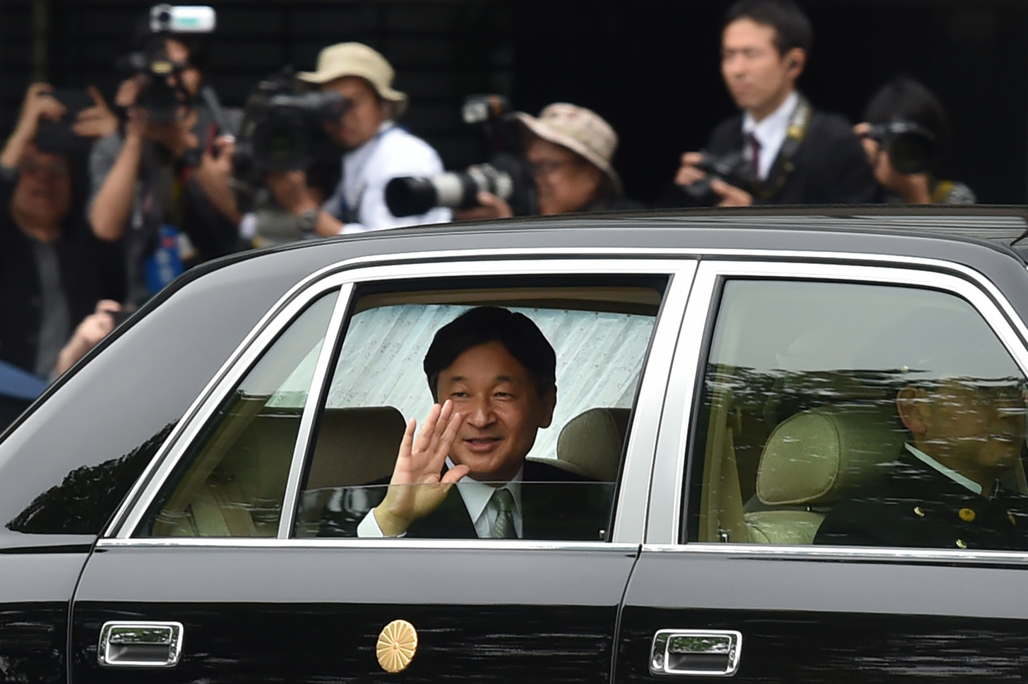 Emperor Naruhito is set to open the Tokyo 2020 Olympic Games ©Getty Images