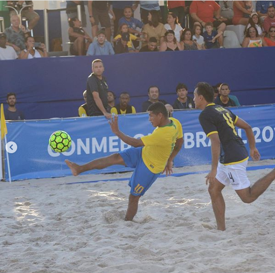 Brazil clinch semi-final spot at CONMEBOL qualifiers for 2019 FIFA Beach Soccer World Cup