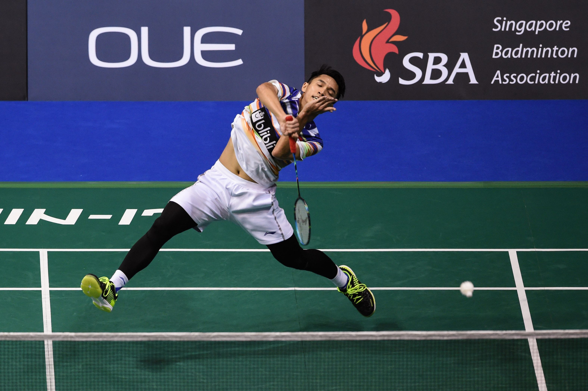 Jonatan Christie avoided an upset in the men's singles ©Getty Images