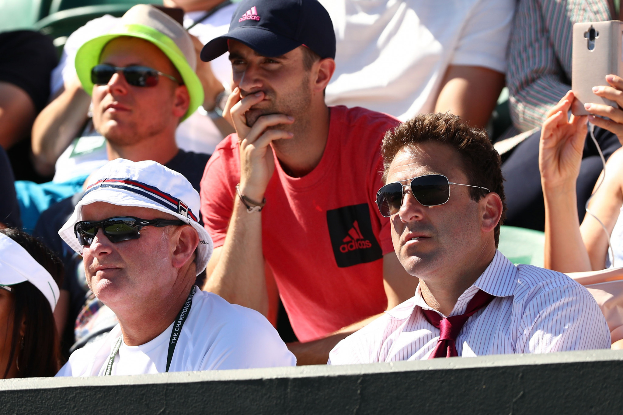 Justin Gimelstob, right, had faced calls to leave his position from several top players ©Getty Images
