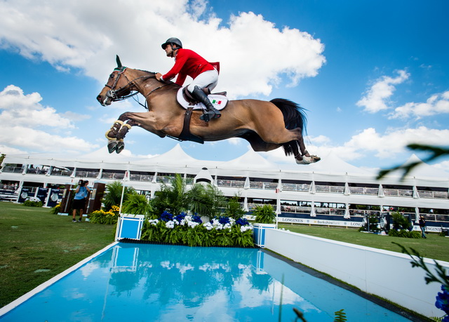 Mexico will be hoping for a home win in the latest of the Longines FEI Jumping Nations Cup series which starts in Coapexpan tomorrow, having won at Florida in February ©FEI