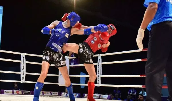 Muaythai competition continued at the Arafura Games ©IFMA