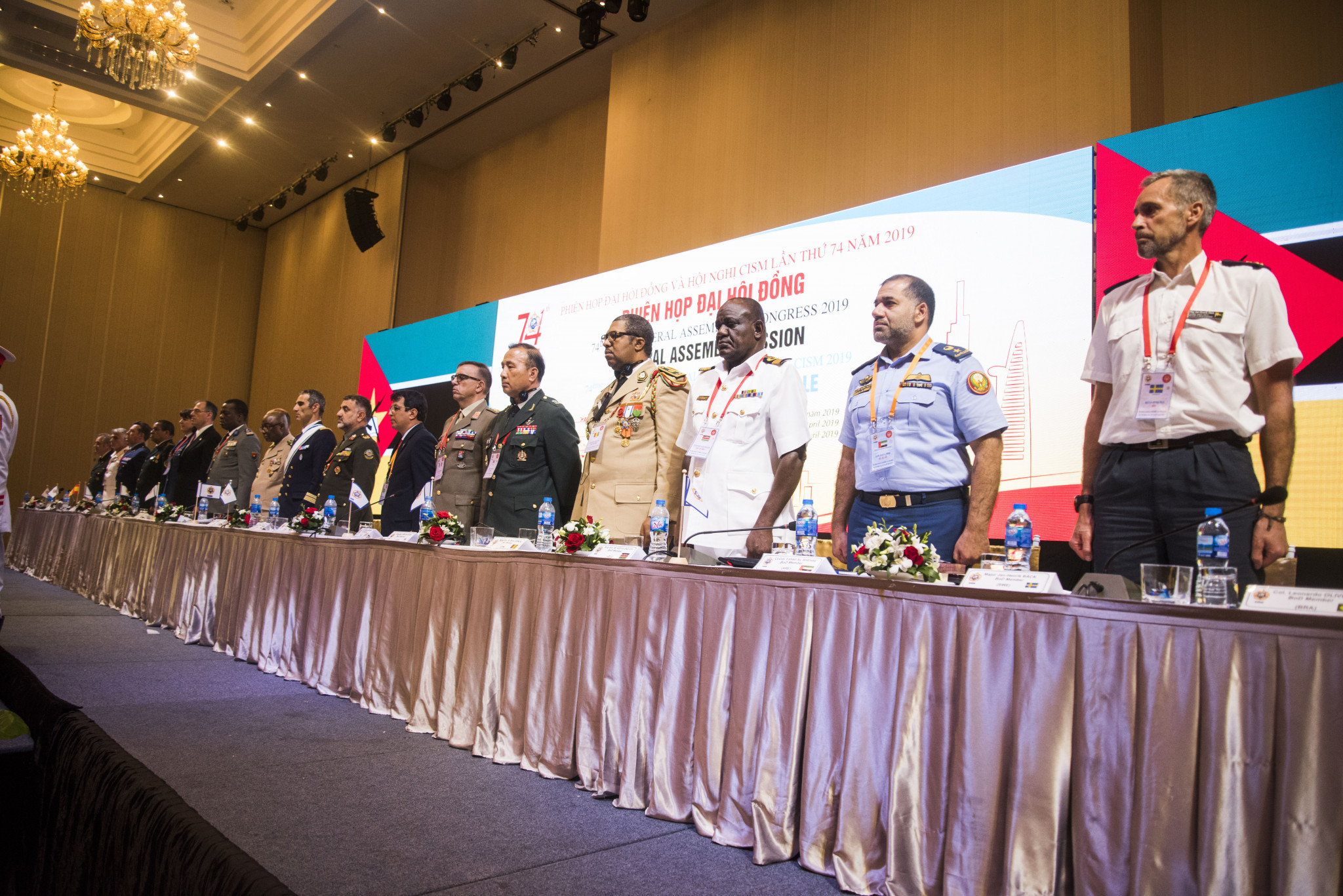 CISM President calls on members to ensure sustainability of organisation as General Assembly and Congress concludes