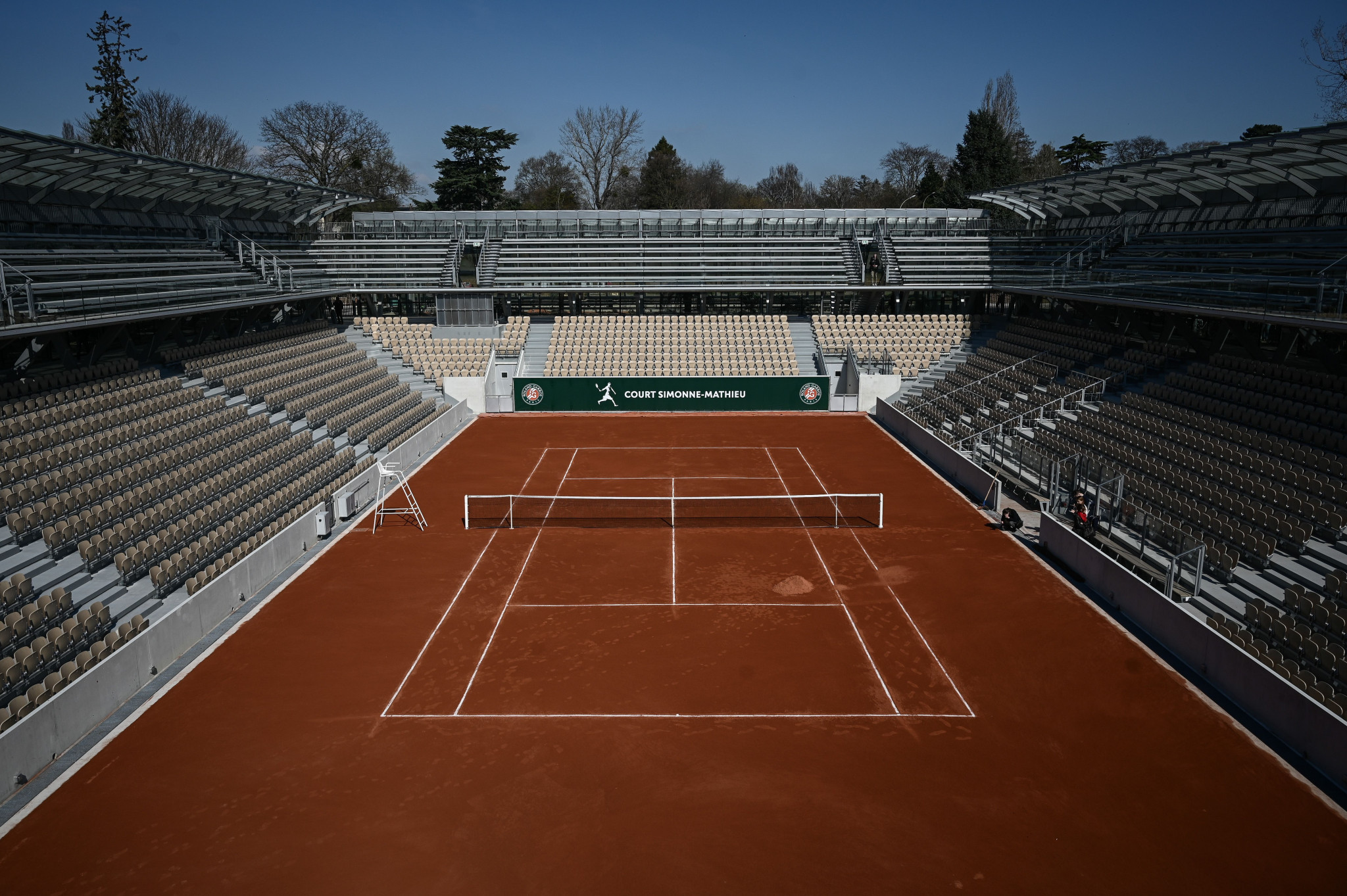 Roland Garros will host tennis competition at the Paris 2024 Olympic Games ©Getty Images