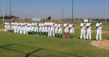 Hosts South Africa maintained their 100 per cent start to the Baseball Africa Cup ©WBSC