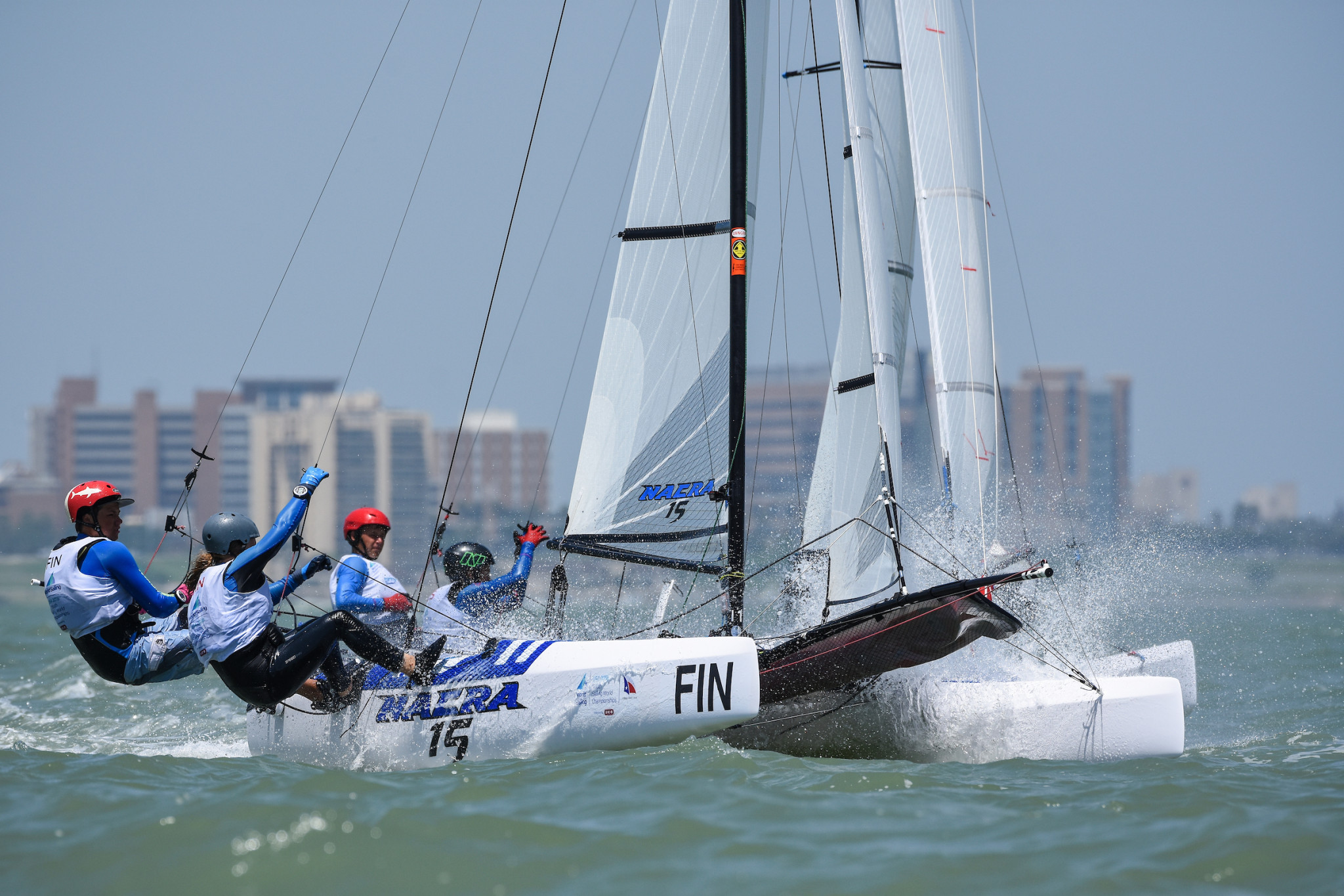 The Hague in the Netherlands is set to host the 2021 Youth Sailing World Championships ©World Sailing