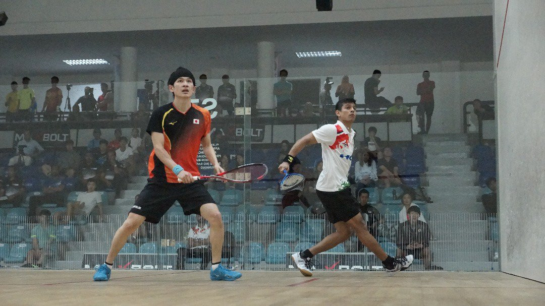 Ghosal and Au remain on course for success at Asian Individual Squash Championships