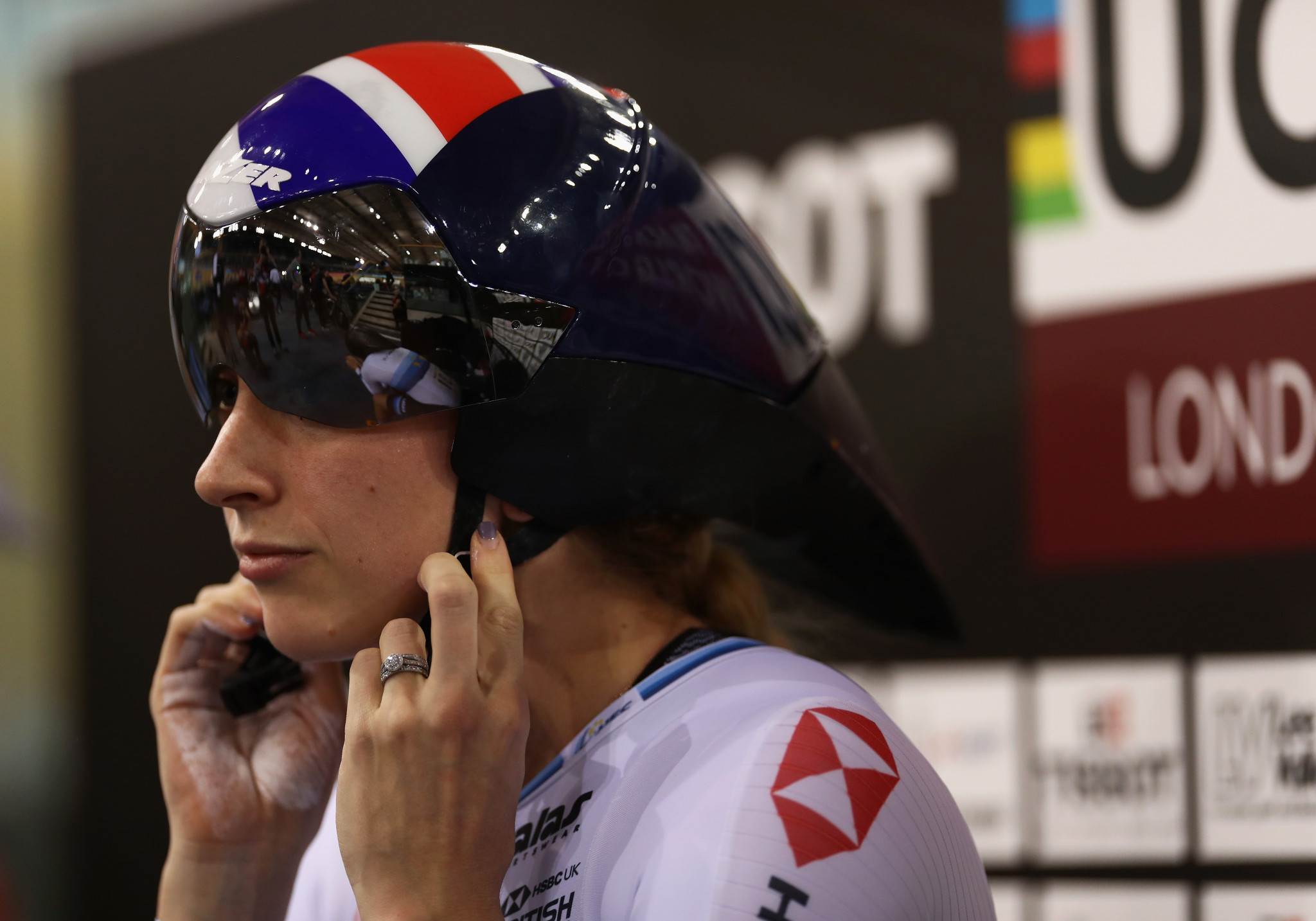 Laura Kenny will appear on marketing for the campaign ©Getty Images