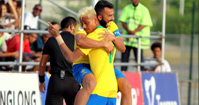 Hosts Brazil take Group A top spot at CONMEBOL qualifiers for 2019 FIFA Beach Soccer World Cup