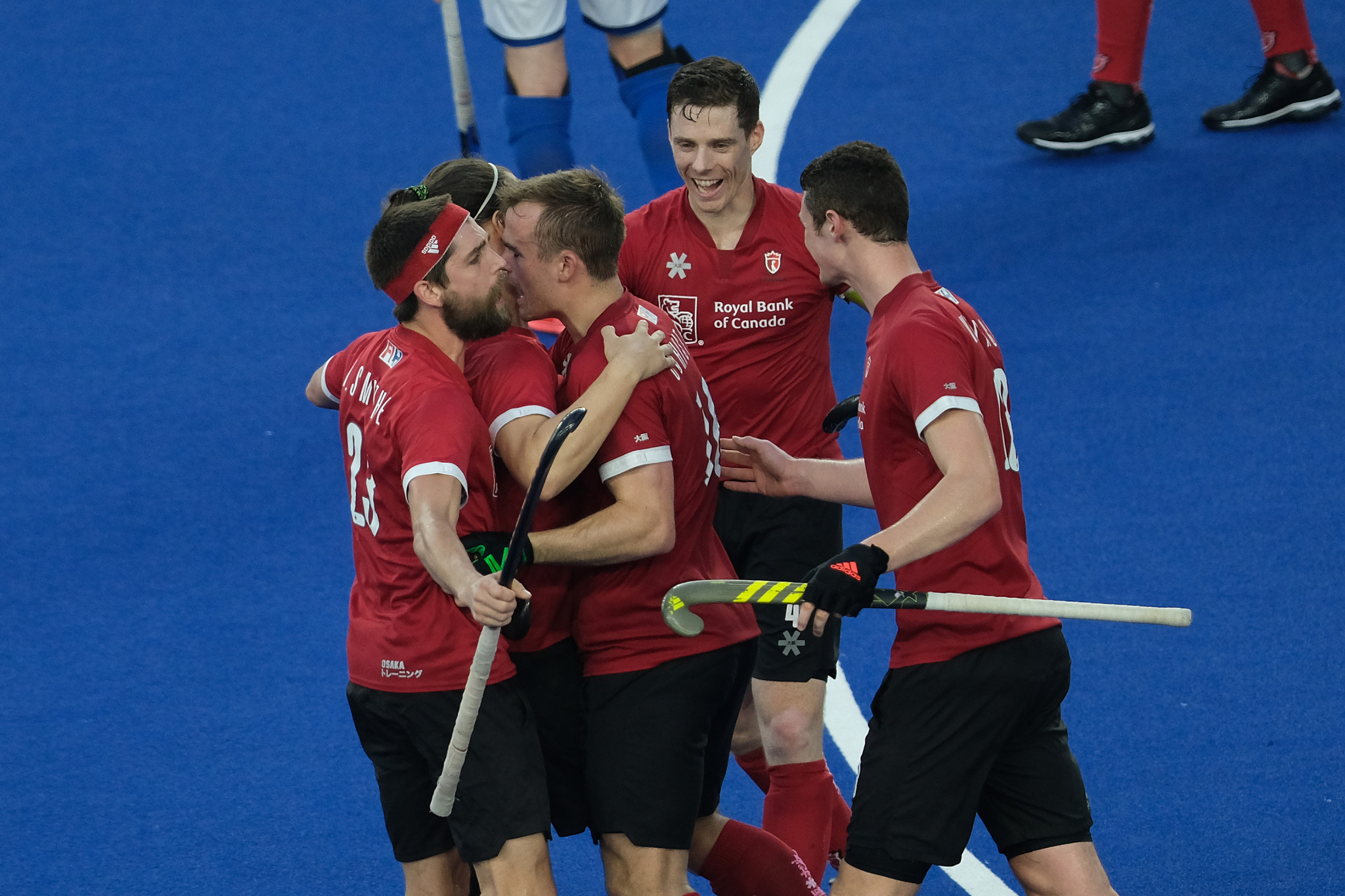 Canada beat Italy 3-1 in the semi-finals of the FIH Series Finals ©Getty Images
