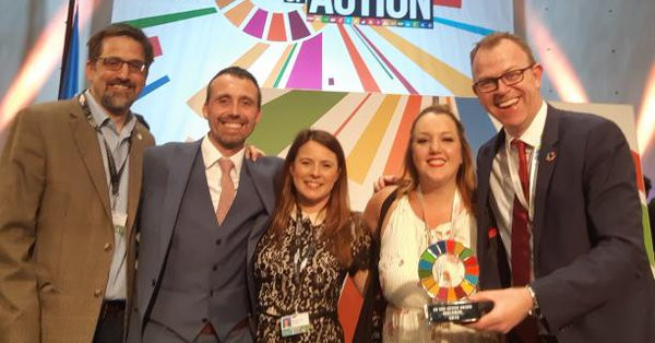 International Paralympic Committee wins top award for employment legacy campaign