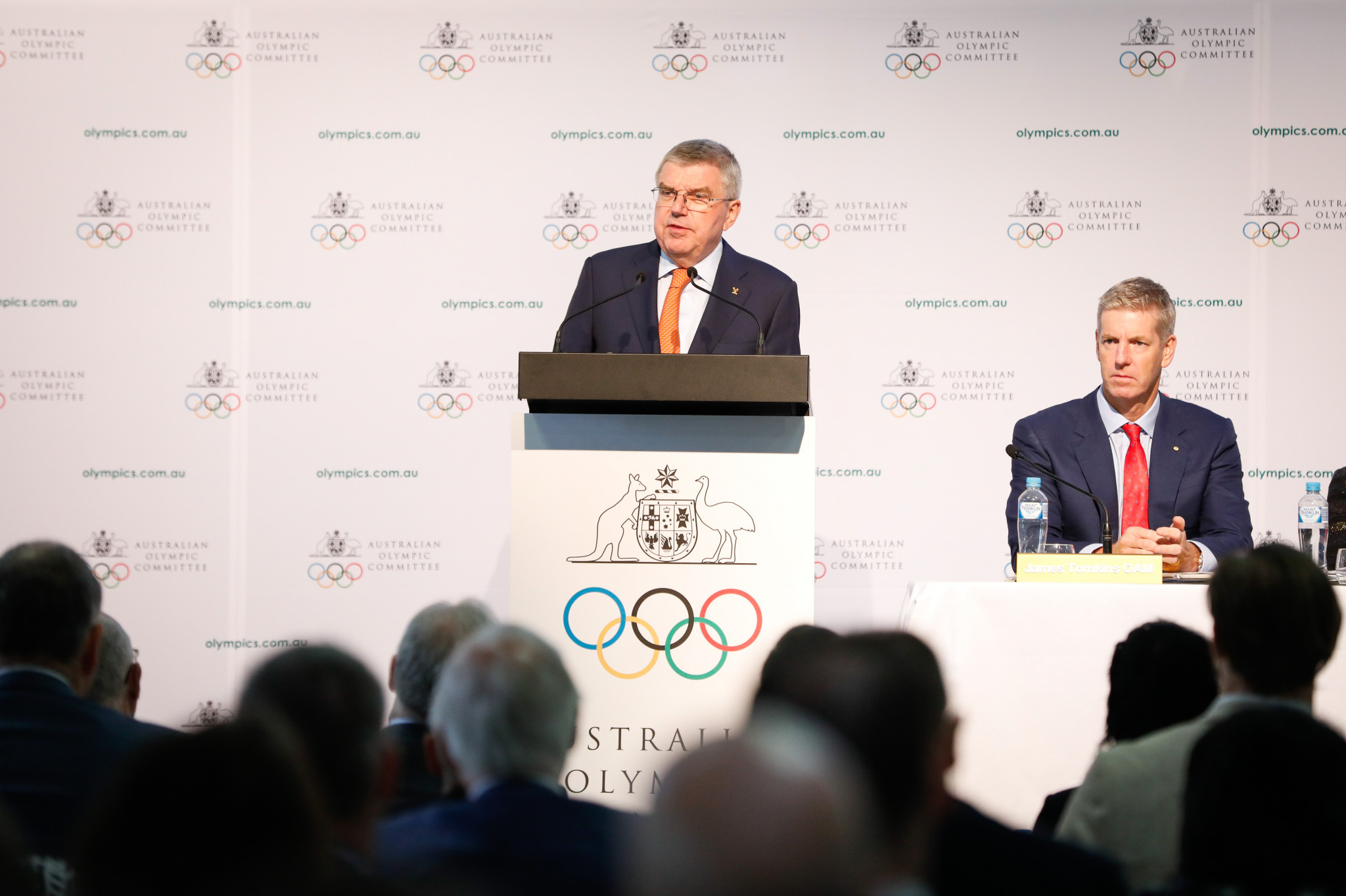 An IOC working group will study the CAS decision on Caster Semenya, its President Thomas Bach revealed while attending the Australian Olympic Committee Annual General Meeting in Sydney ©Getty Images