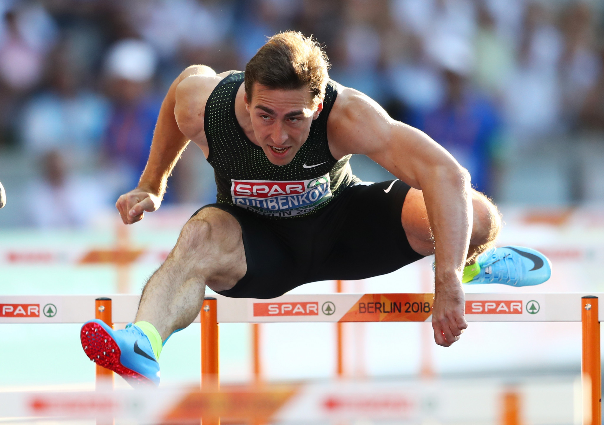 Russian competitors, like 110 metres hurdler Sergey Shubenkov, have been forced to compete as an
