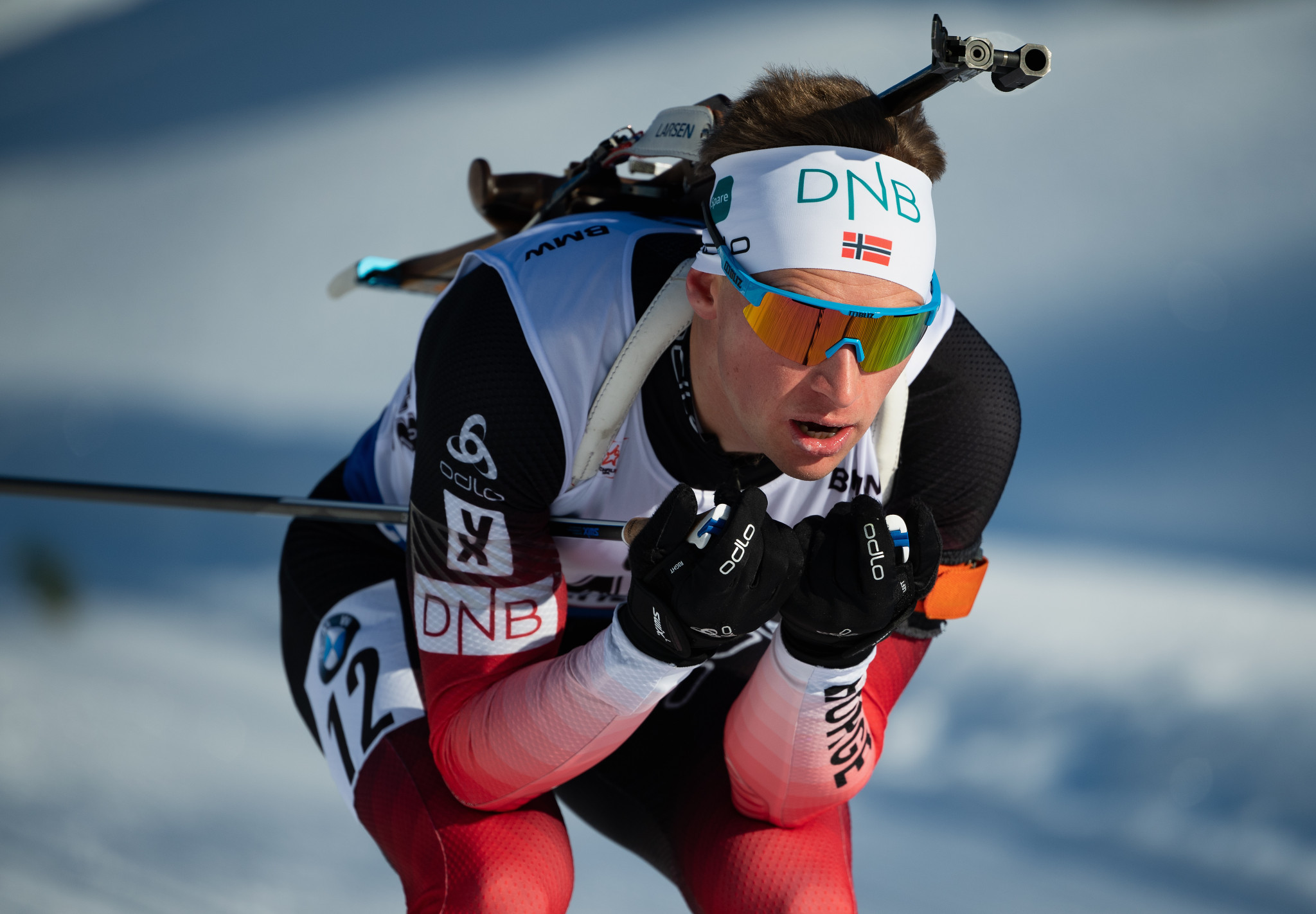 Norway's Henrik L'Abee-Lund has called time on his biathlon career at the age of 33 ©Getty Images