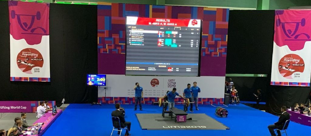 The World Para Powerlifting World Cup is taking place at Lima's Sport Centre 2 ©World Para Powerlifting